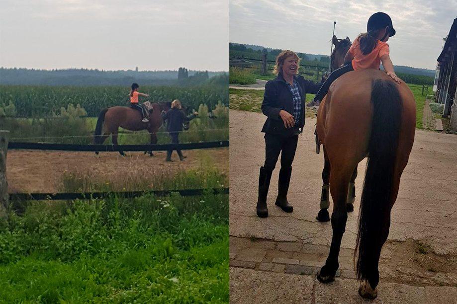 Kinderen vertrouwd maken met paarden